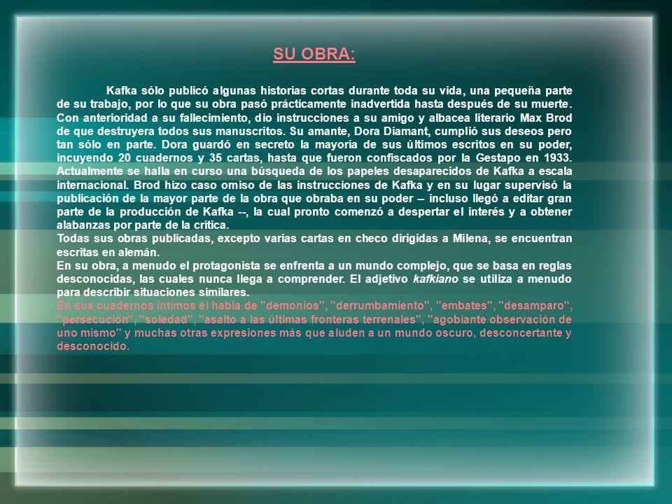 SU OBRA: