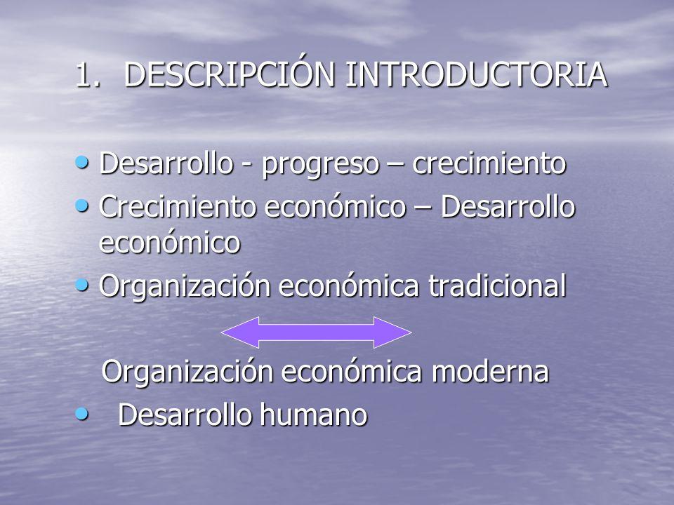 1. DESCRIPCIÓN INTRODUCTORIA