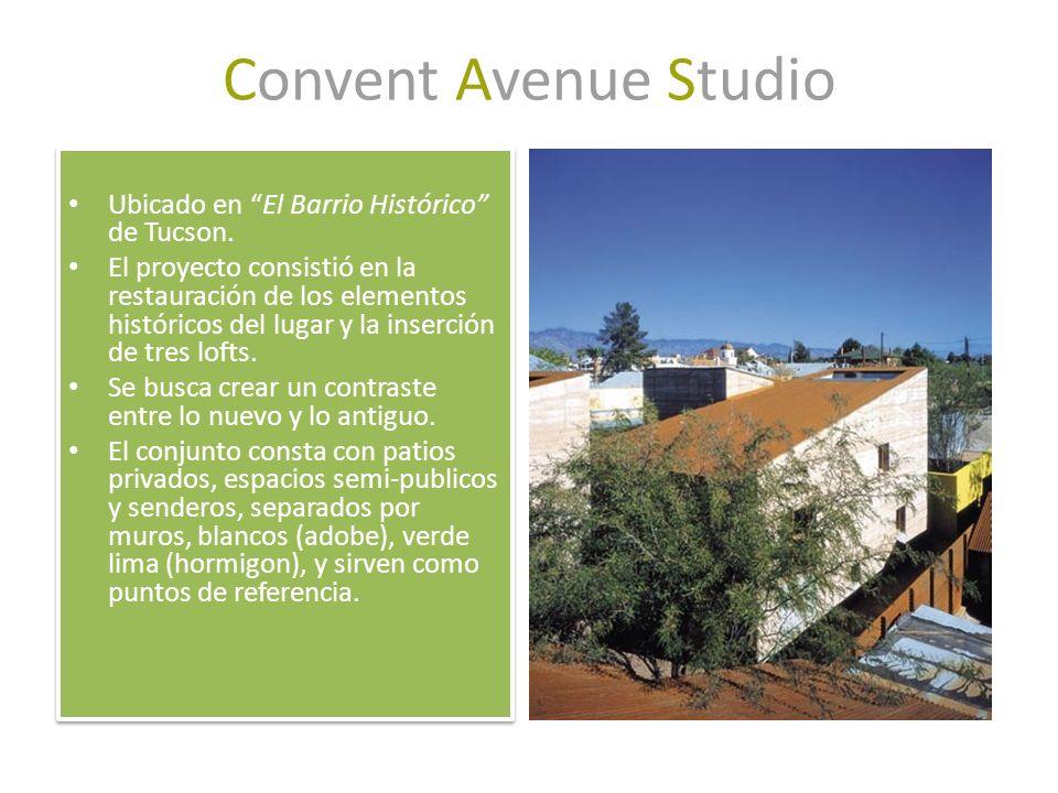 Convent Avenue Studio Ubicado en El Barrio Histórico de Tucson.