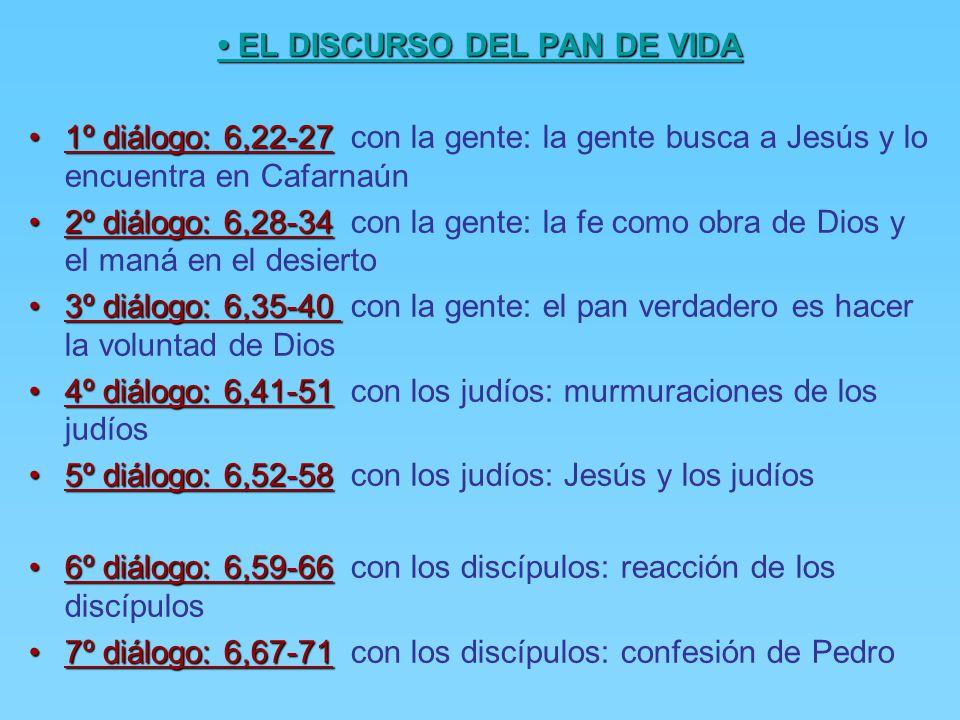 • EL DISCURSO DEL PAN DE VIDA