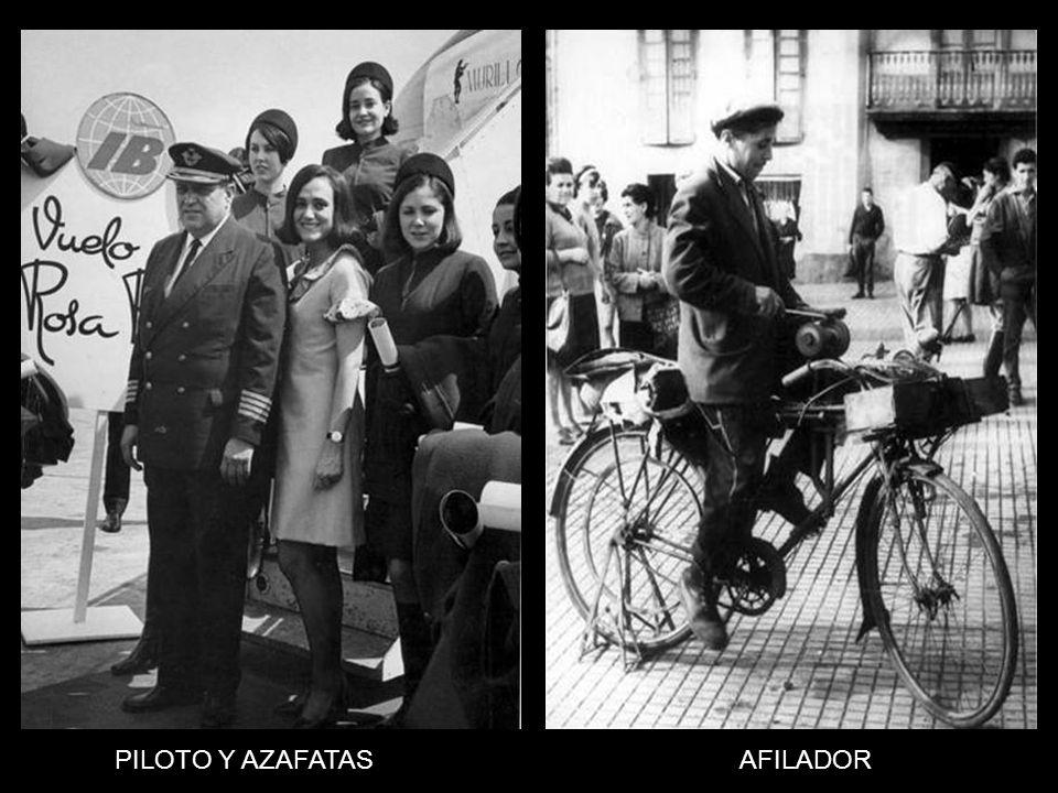 PILOTO Y AZAFATAS AFILADOR