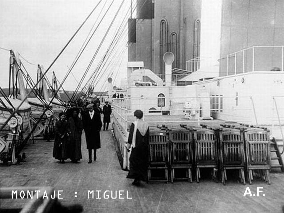 A.F. MONTAJE : MIGUEL