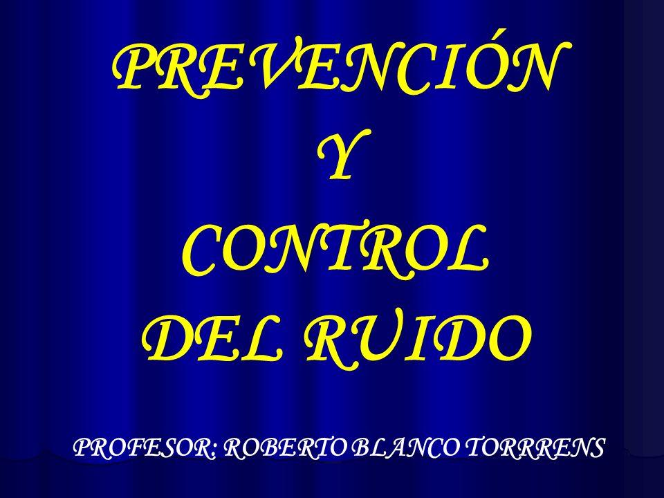 PROFESOR: ROBERTO BLANCO TORRRENS