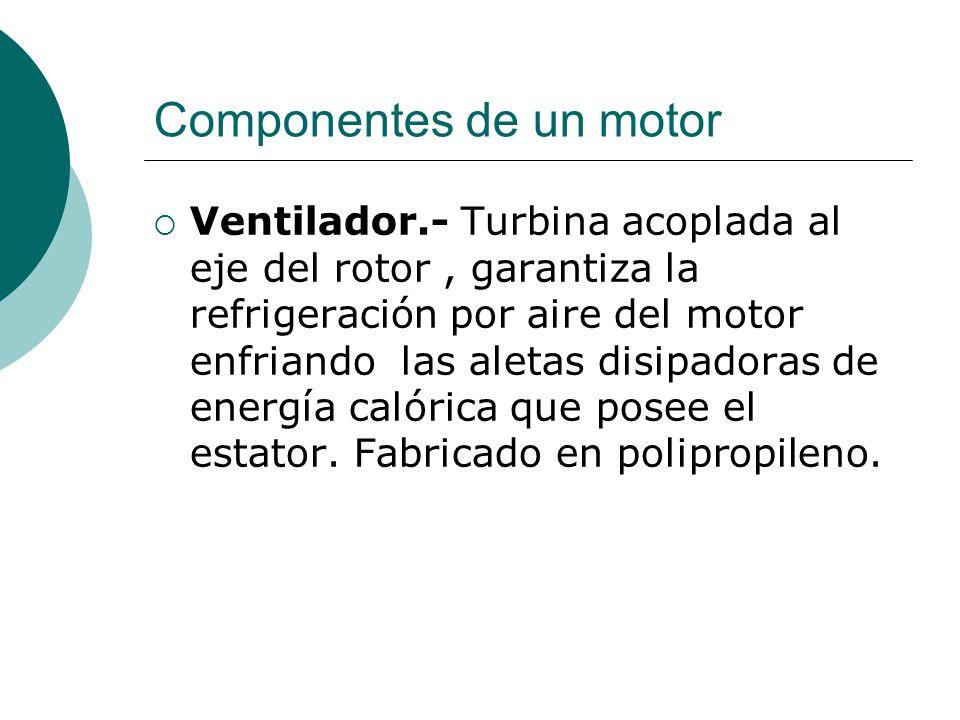 Componentes de un motor