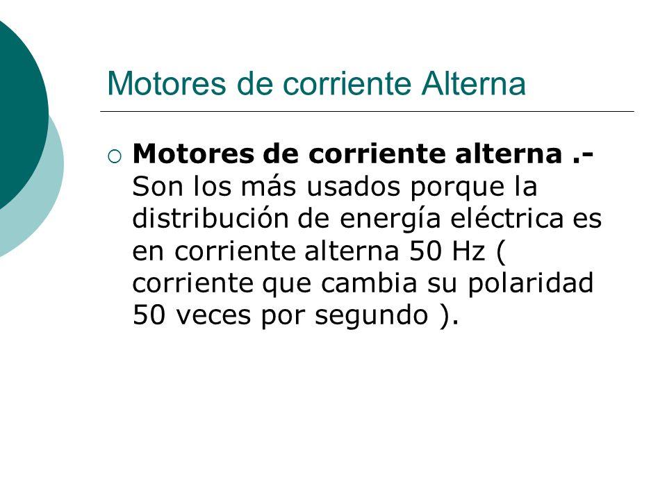 Motores de corriente Alterna