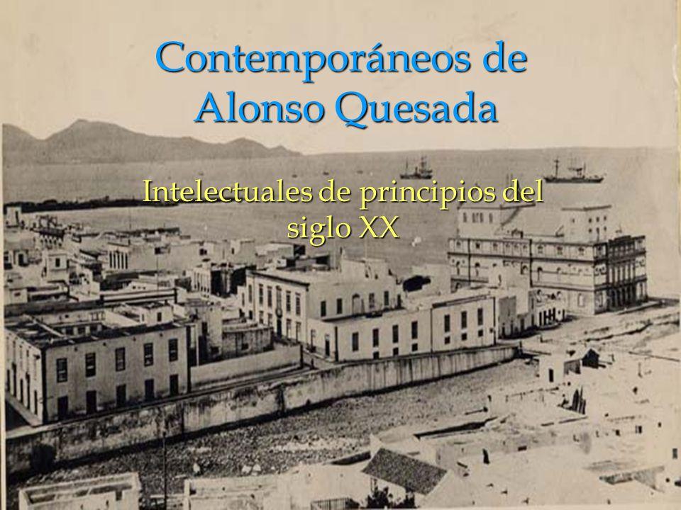 Contemporáneos de Alonso Quesada
