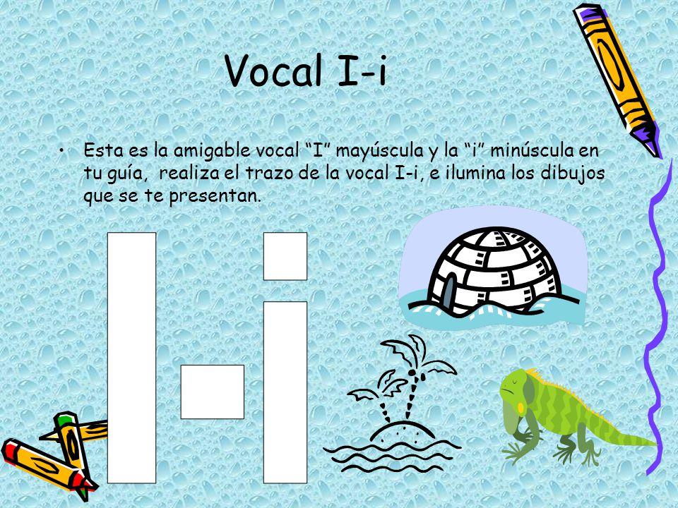 Vocal I-i