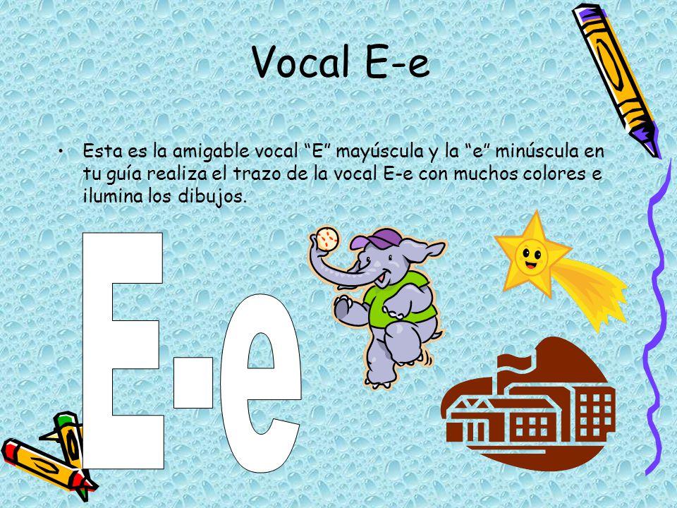 Vocal E-e