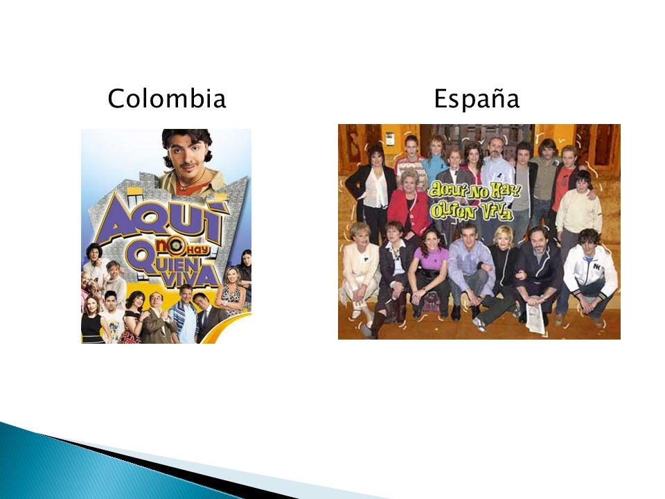 Colombia España