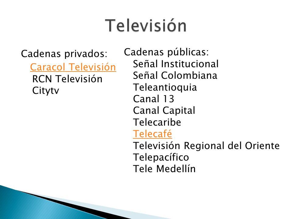 Televisión Cadenas públicas:
