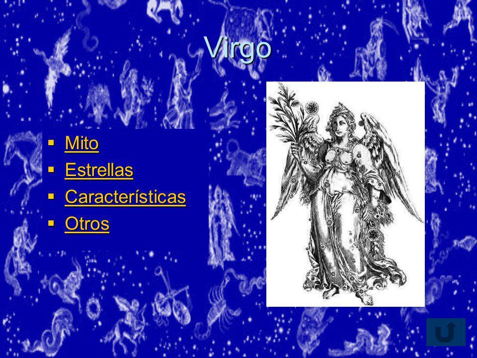 Virgo Mito Estrellas Características Otros