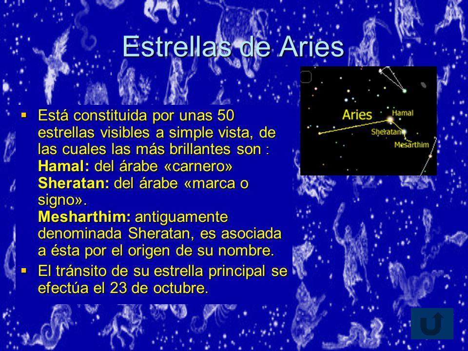 Estrellas de Aries