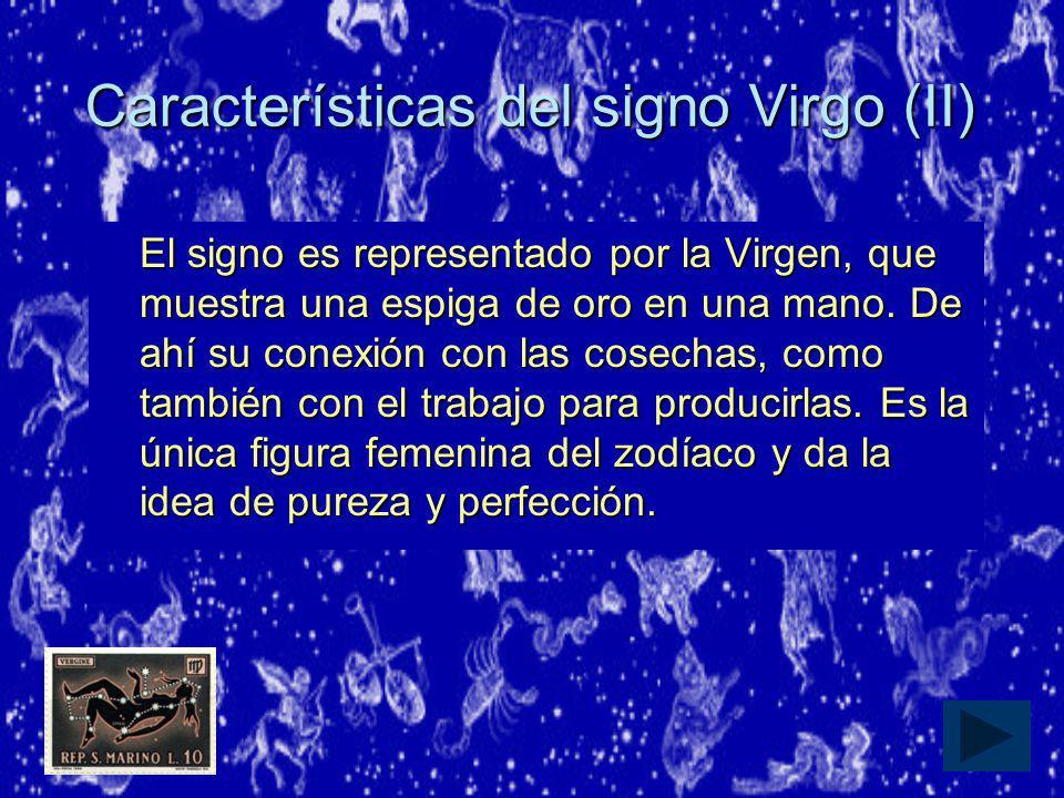 Características del signo Virgo (II)