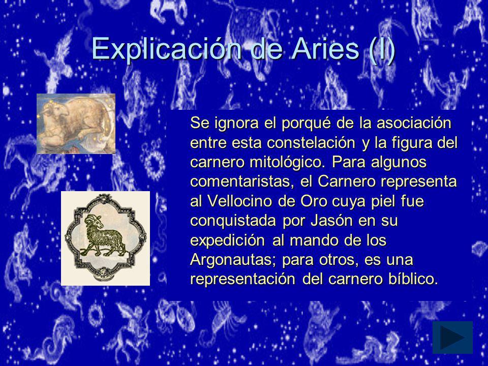 Explicación de Aries (I)