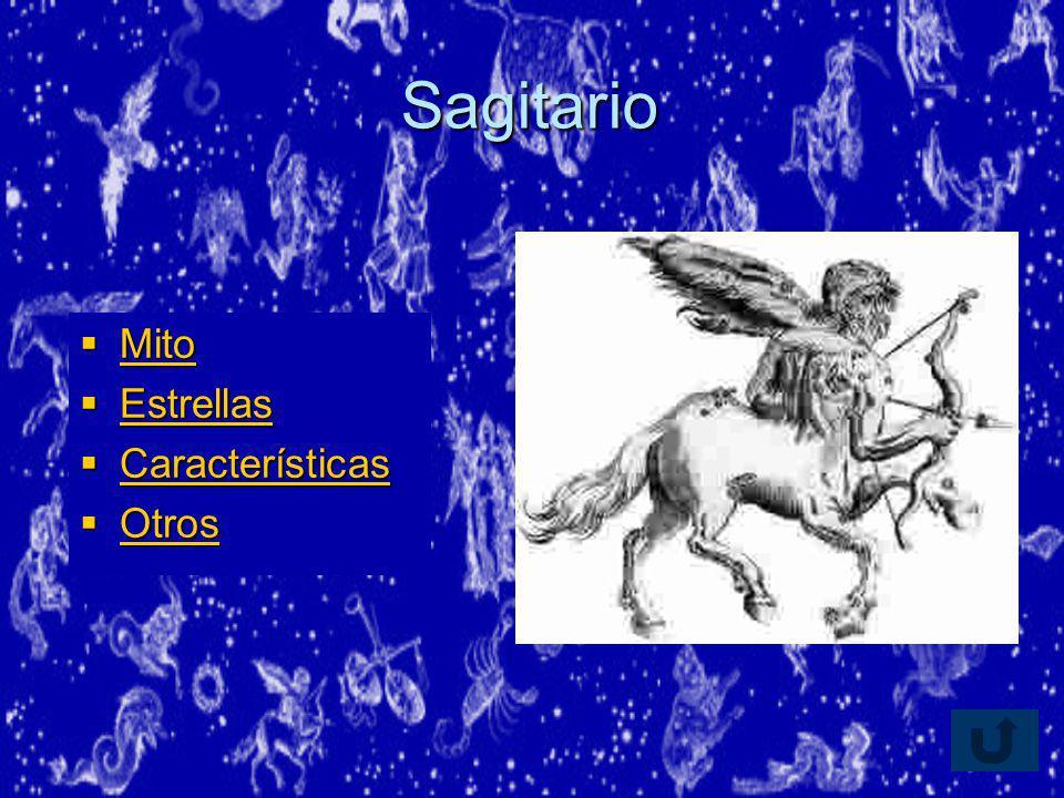 Sagitario Mito Estrellas Características Otros