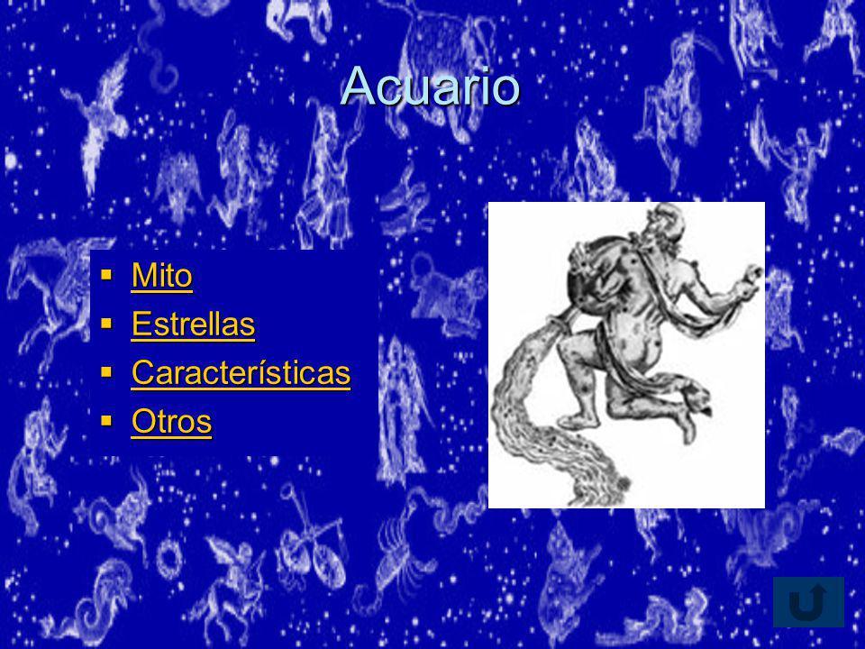 Acuario Mito Estrellas Características Otros
