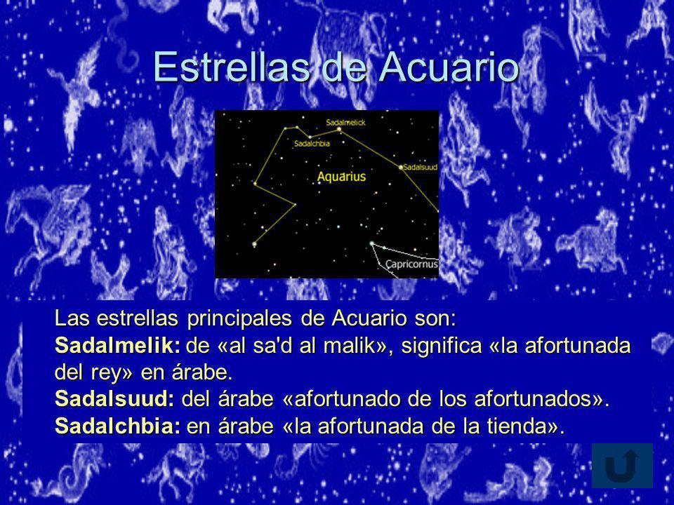 Estrellas de Acuario