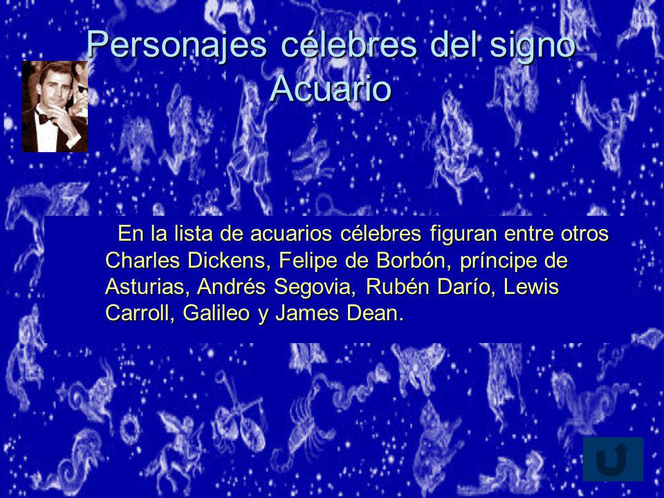 Personajes célebres del signo Acuario