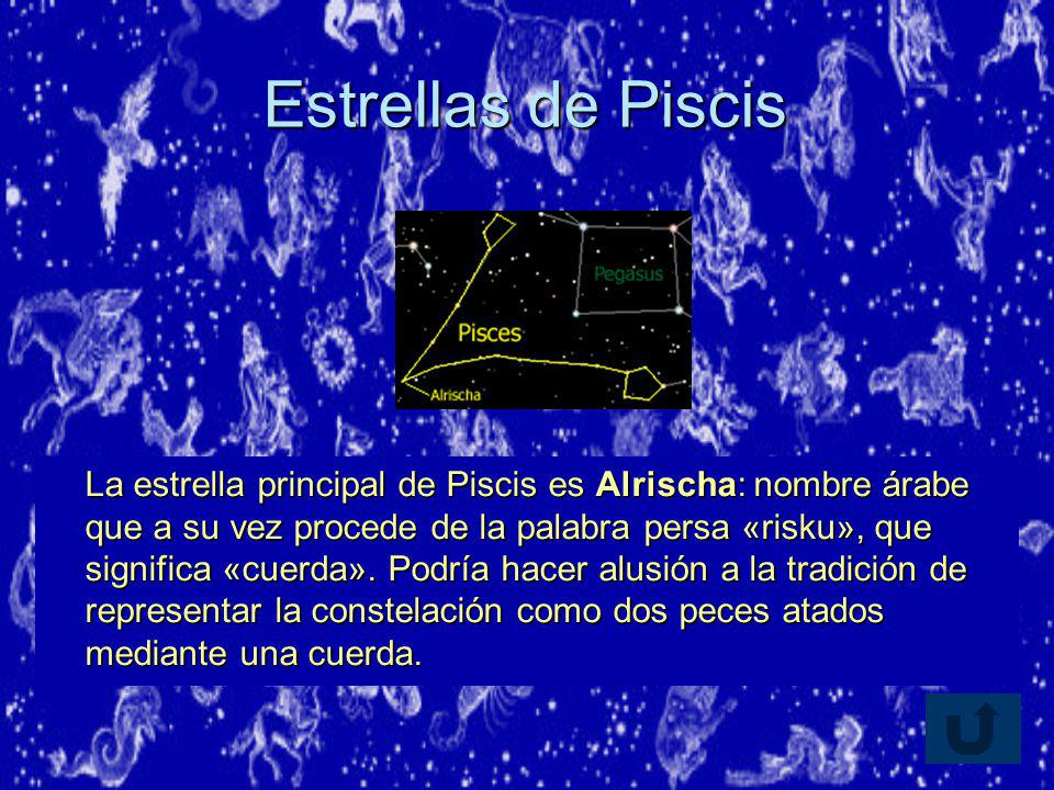 Estrellas de Piscis