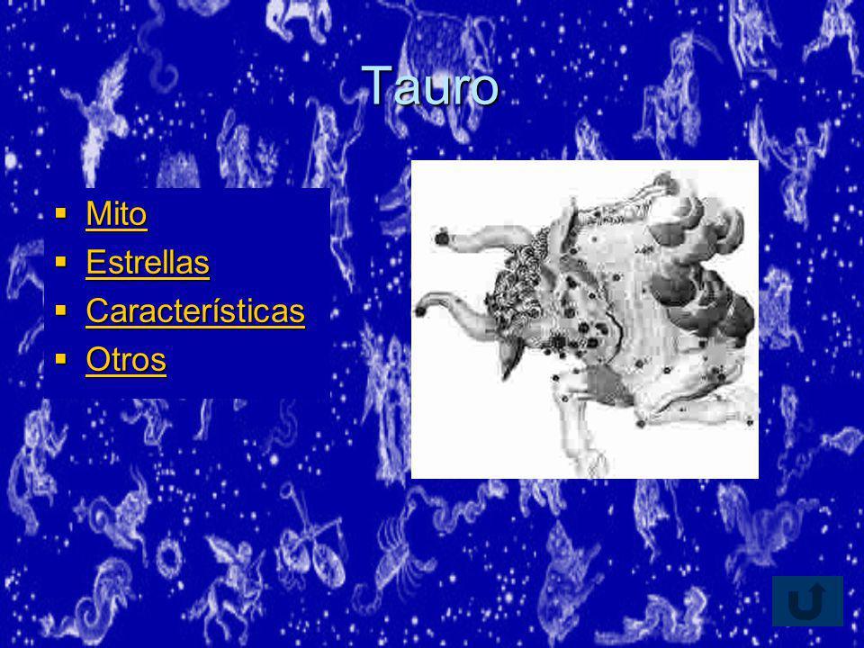 Tauro Mito Estrellas Características Otros