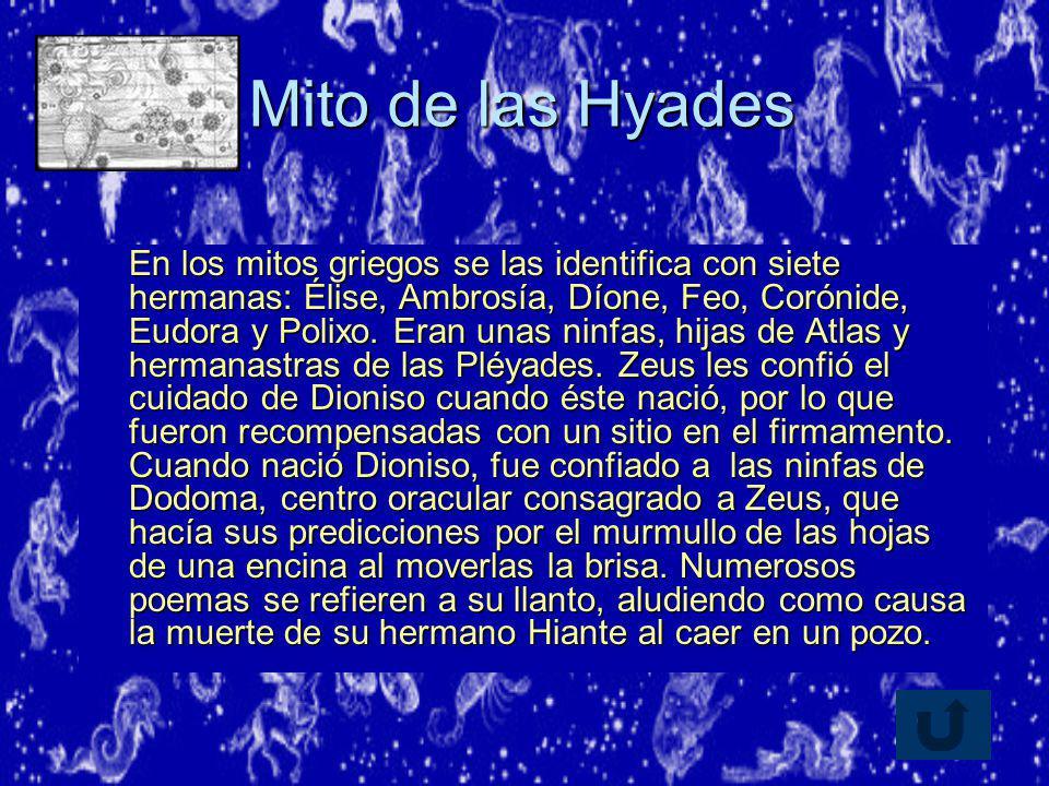 Mito de las Hyades