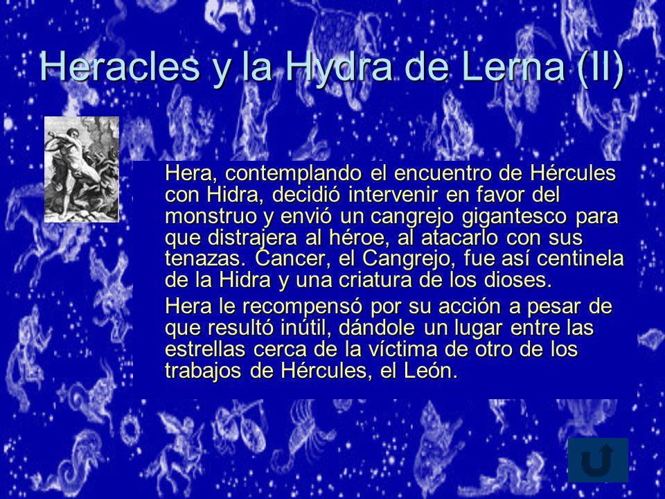 Heracles y la Hydra de Lerna (II)