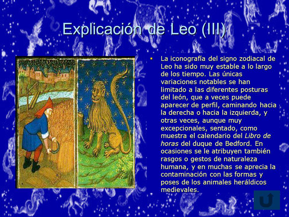 Explicación de Leo (III)
