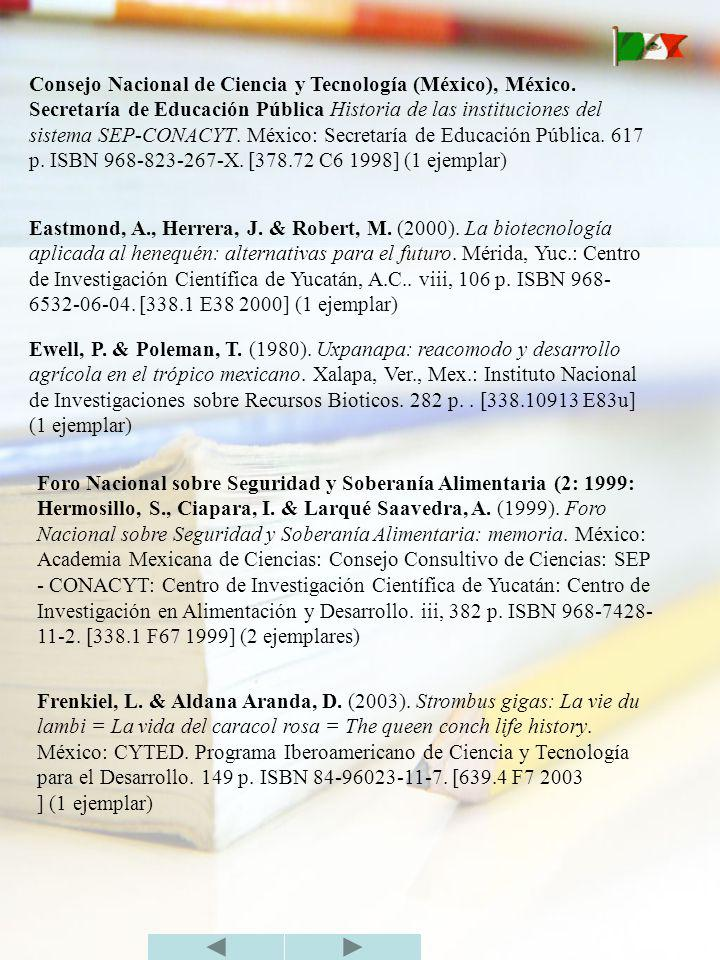 Consejo Nacional de Ciencia y Tecnología (México), México