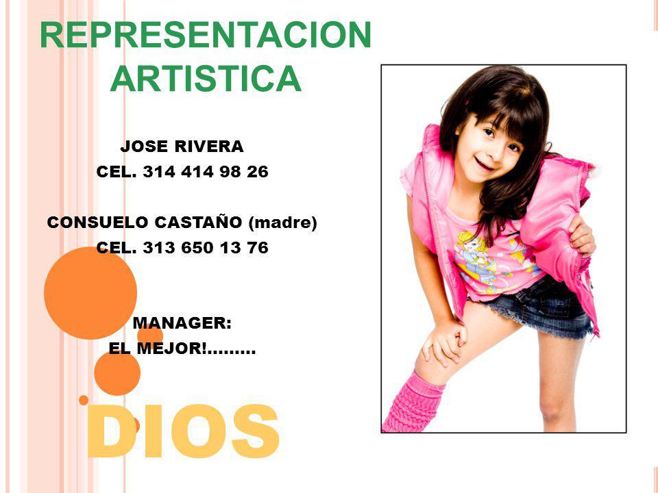 REPRESENTACION ARTISTICA CONSUELO CASTAÑO (madre)