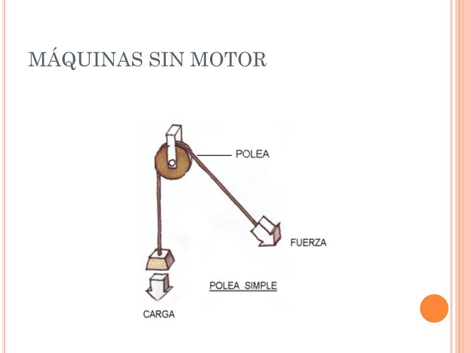 MÁQUINAS SIN MOTOR