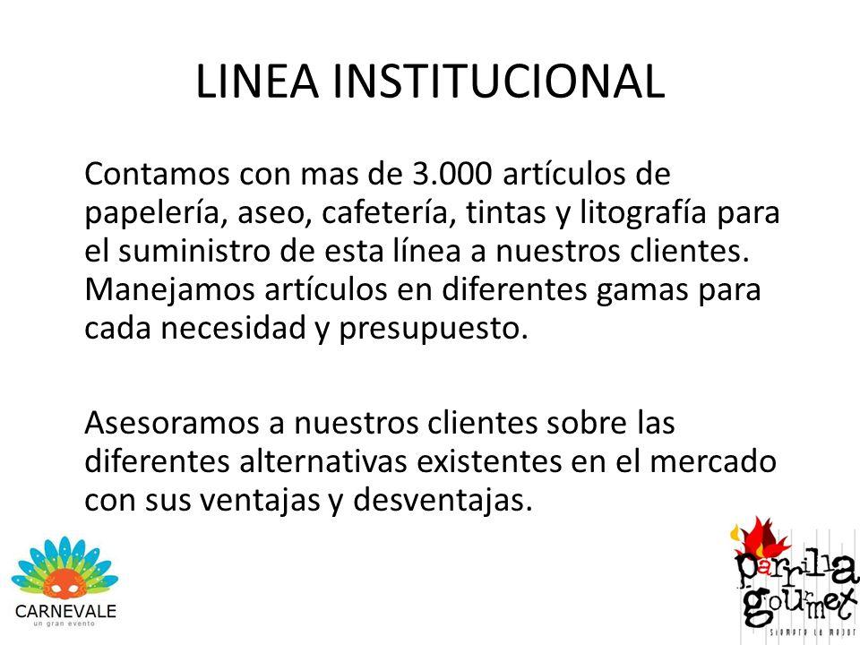 LINEA INSTITUCIONAL