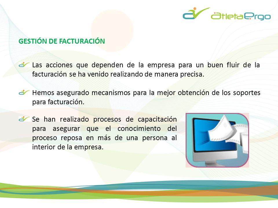 GESTIÓN DE FACTURACIÓN