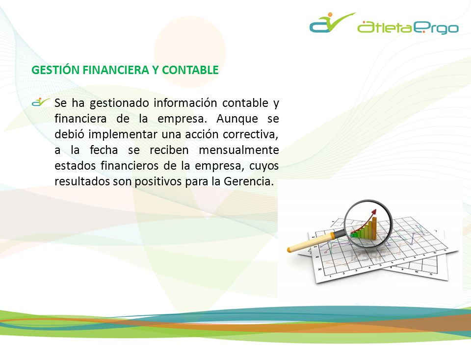 GESTIÓN FINANCIERA Y CONTABLE