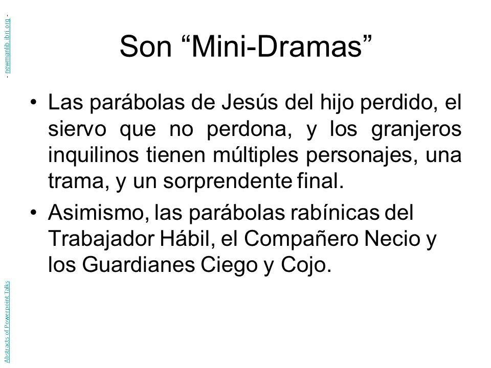 Son Mini-Dramas - newmanlib.ibri.org -