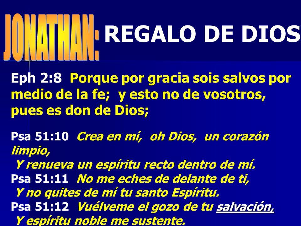 REGALO DE DIOS JONATHAN: