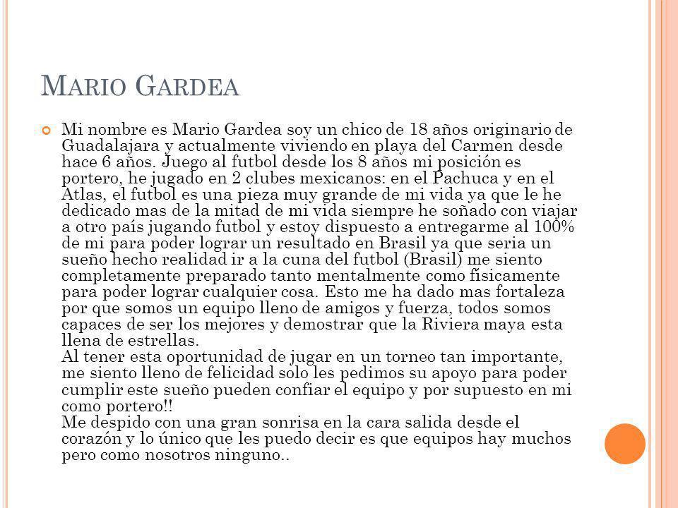 Mario Gardea