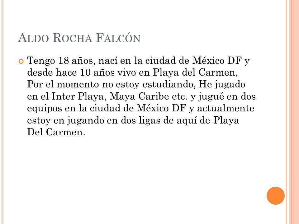 Aldo Rocha Falcón