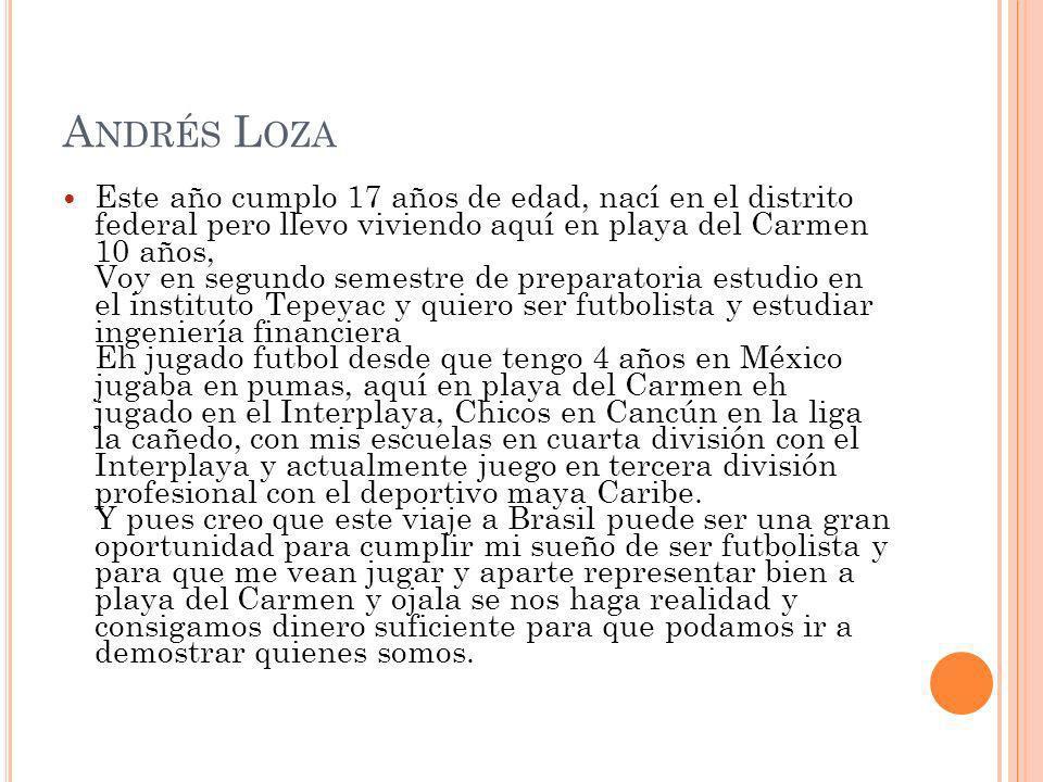 Andrés Loza