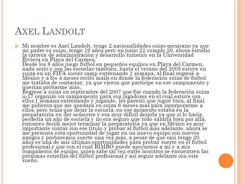 Axel Landolt