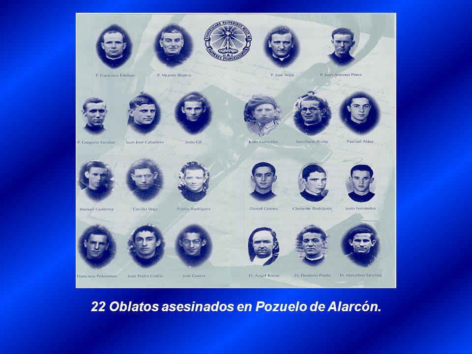 22 Oblatos asesinados en Pozuelo de Alarcón.