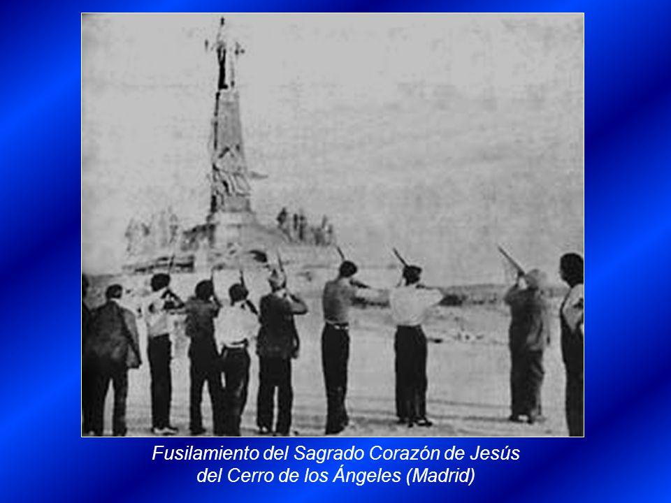 Fusilamiento del Sagrado Corazón de Jesús del Cerro de los Ángeles (Madrid)