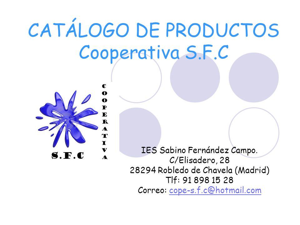 CATÁLOGO DE PRODUCTOS Cooperativa S.F.C