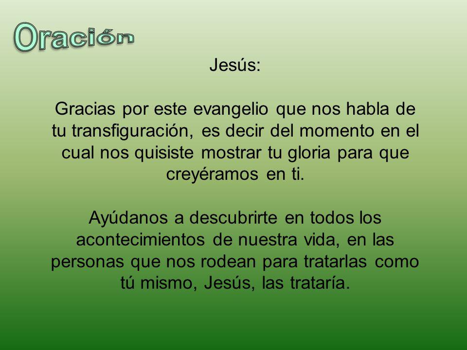 Oración Jesús: