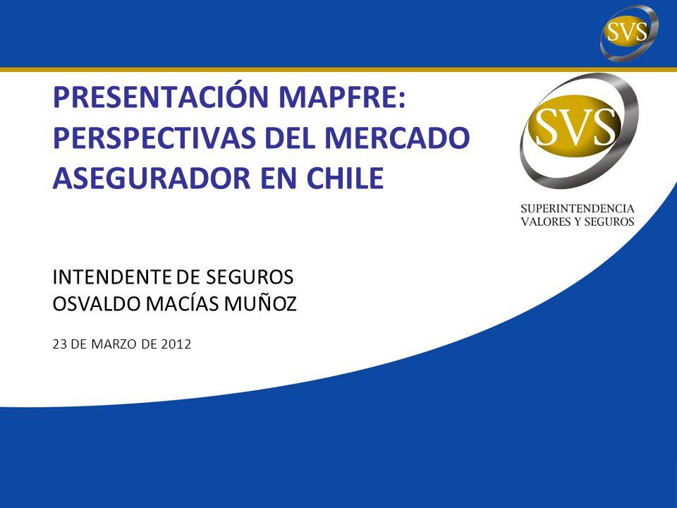 PRESENTACIÓN MAPFRE: PERSPECTIVAS DEL MERCADO ASEGURADOR EN CHILE