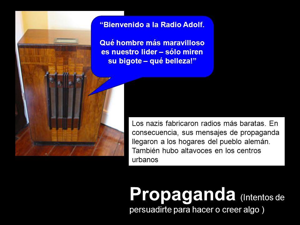 Bienvenido a la Radio Adolf.