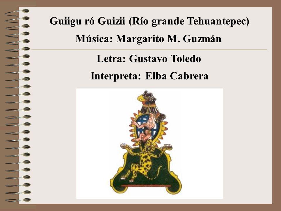Guiigu ró Guizii (Río grande Tehuantepec)