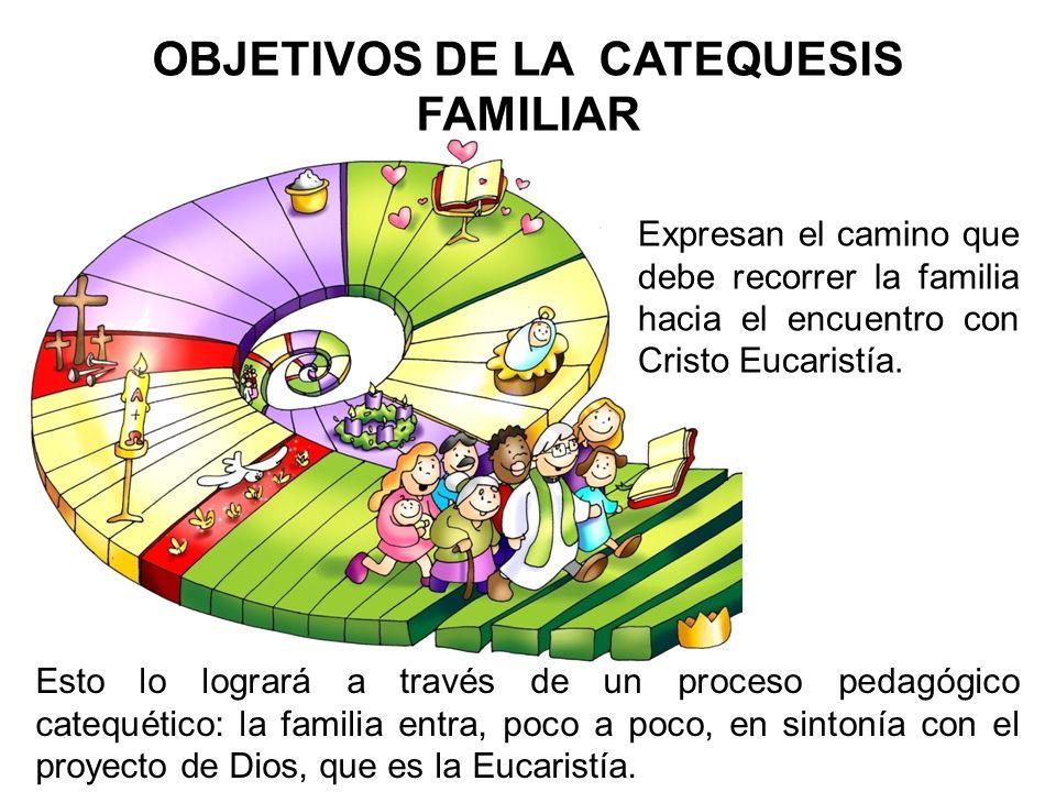 OBJETIVOS DE LA CATEQUESIS