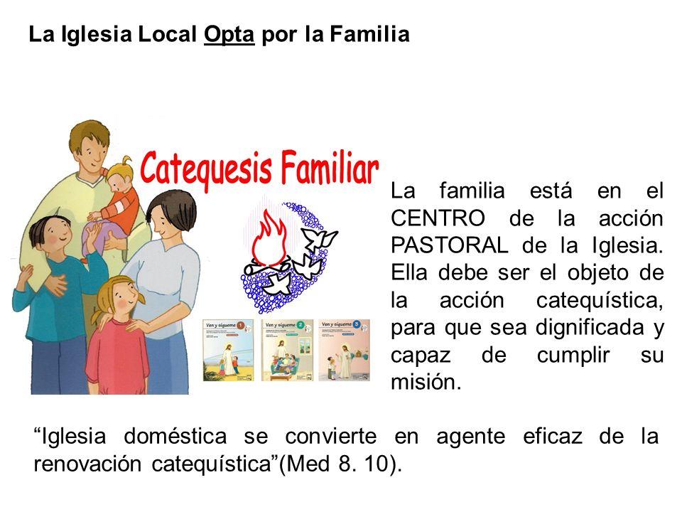 La Iglesia Local Opta por la Familia
