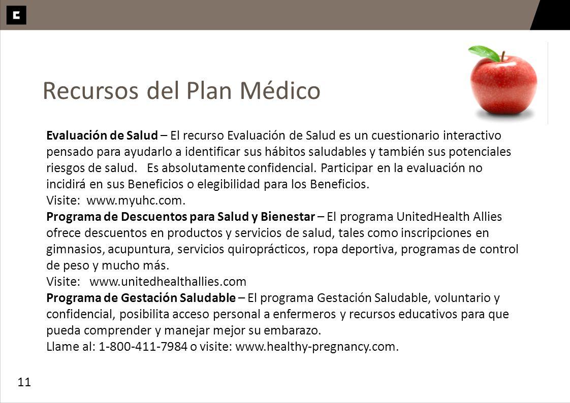 Recursos del Plan Médico