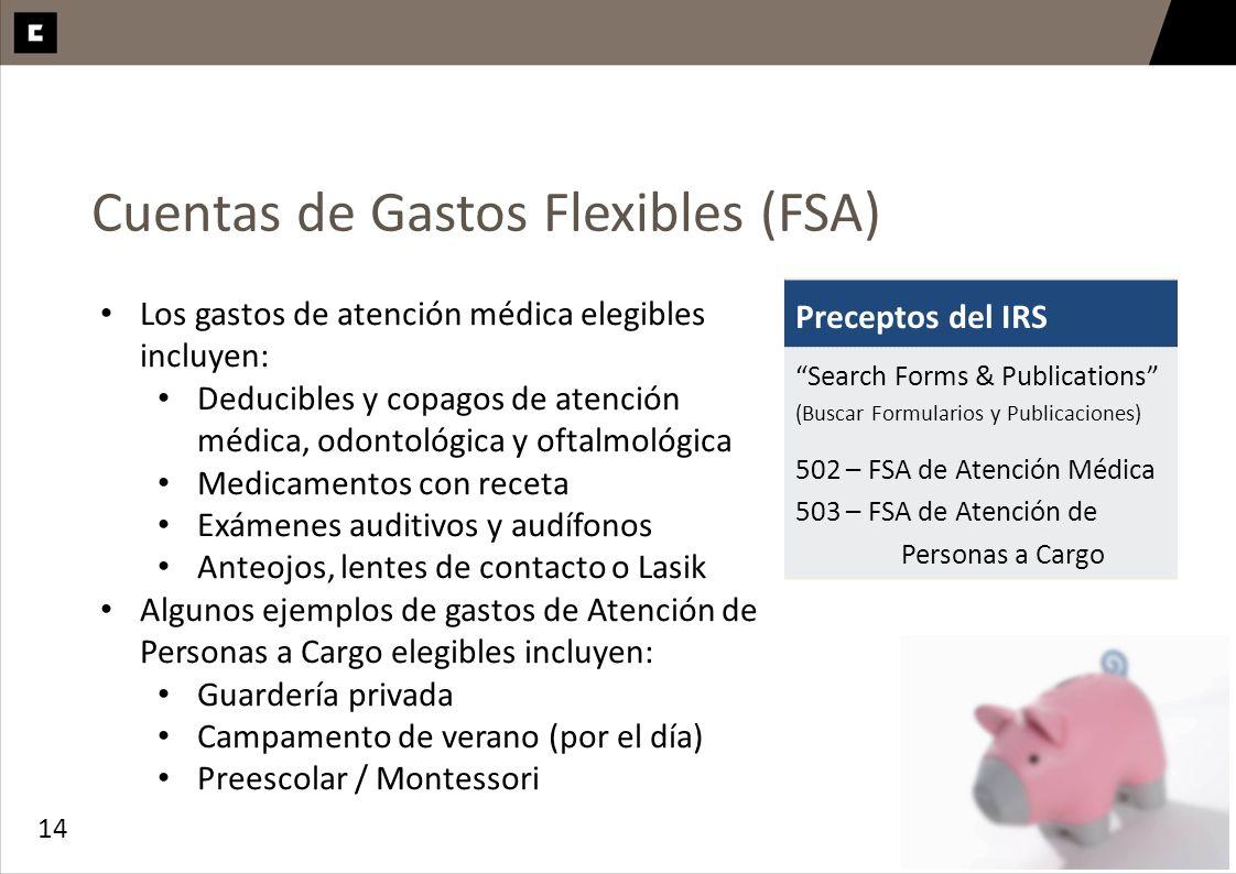 Cuentas de Gastos Flexibles (FSA)